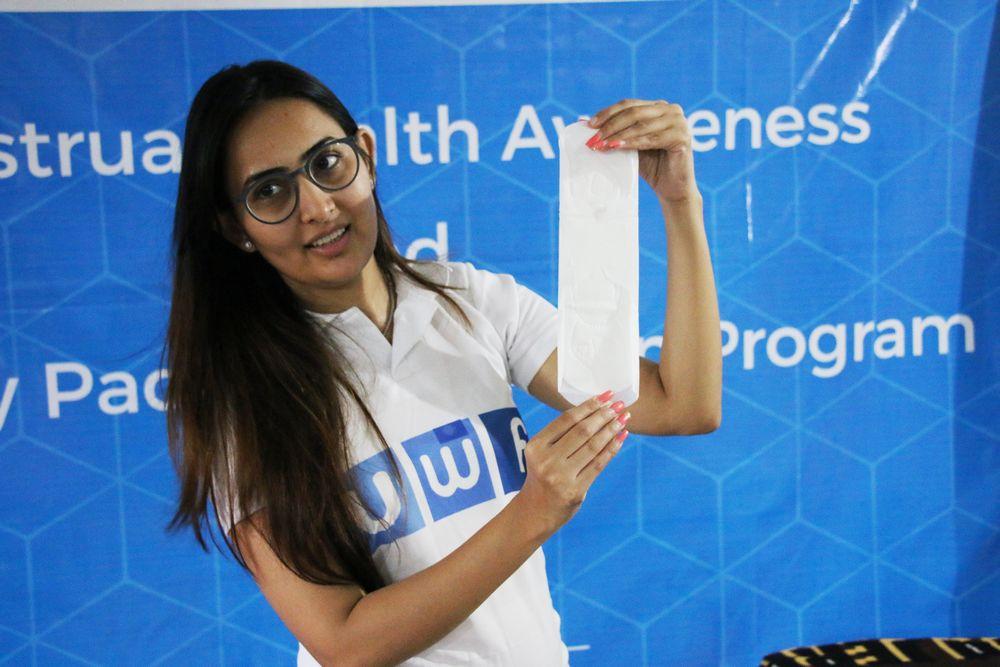 Aadivasi Vikas Seva Mandal - Menstrual health awareness and sanitary pads distribution program - United World Foundation