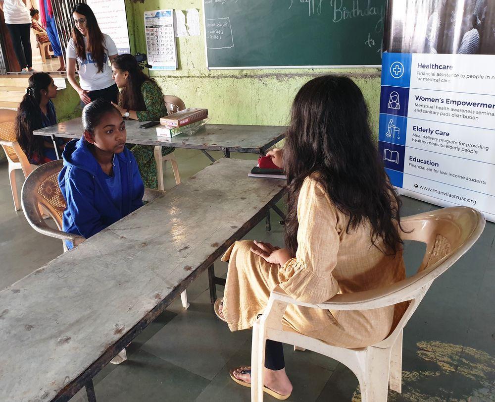 Medical Checkup - Malvi Education and Charitable Trust, Shantaba High School, Kukeri, Chikhli - United World Foundation