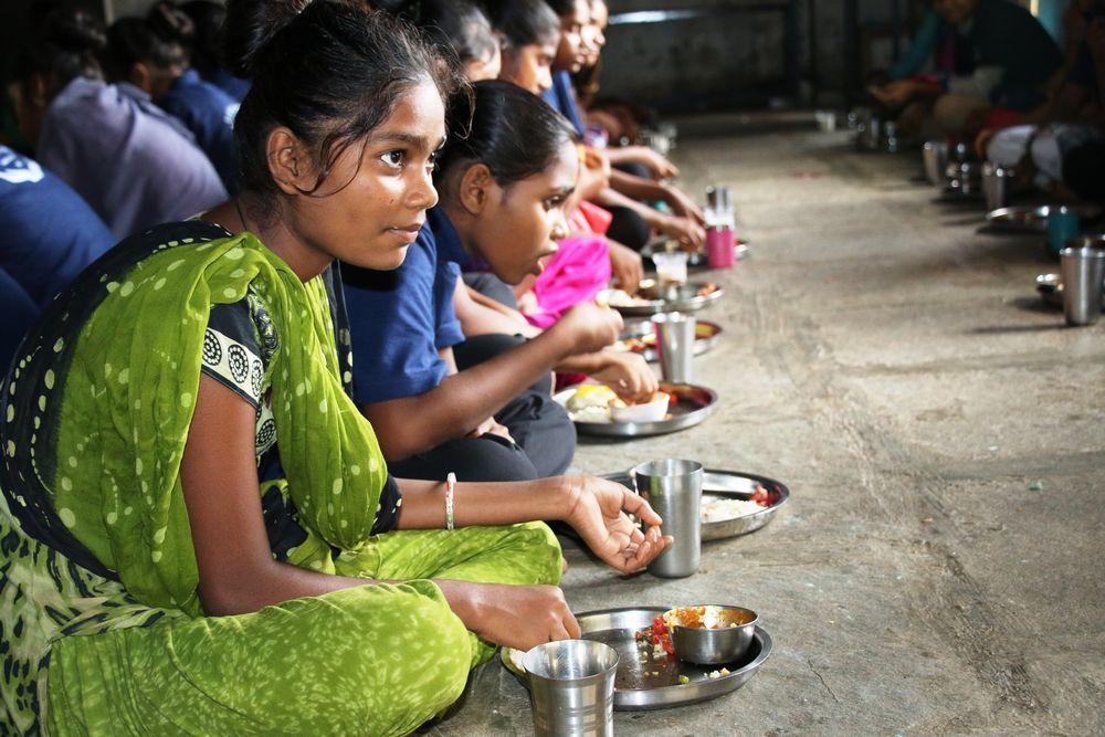 Food Outreach Program - Food Outreach Program - Shantaba High School, Kukeri, Chikhli - United World Foundation