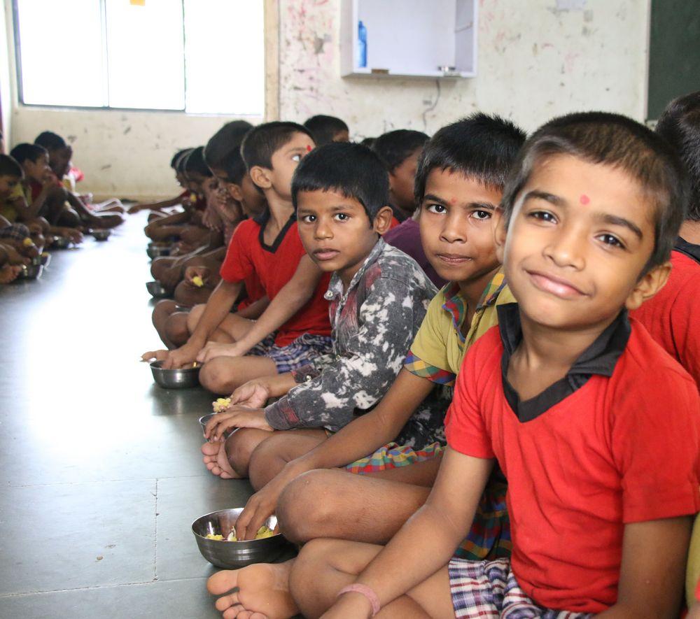 Food Outreach Program - Shantaba High School, Kukeri, Chikhli - United World Foundation